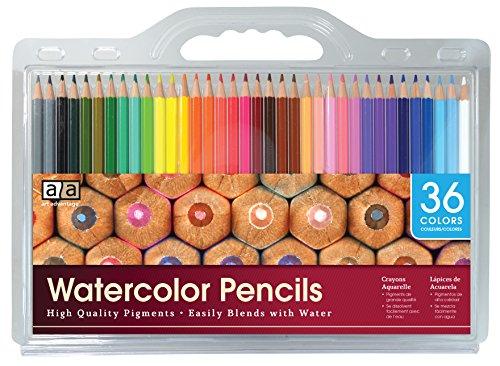 Art Advantage 36 Color watercolor Pencil Set by Art Advantage