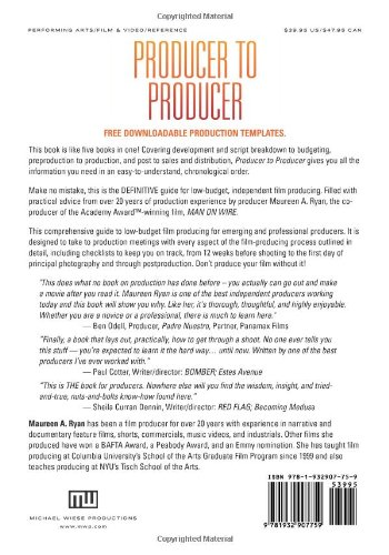 Producer to Producer: A Step-By-Step Guide to Low-Budgets ...