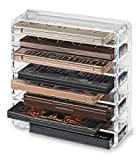 byAlegory Acrylic Palette Organizer, Clear (Health and Beauty)