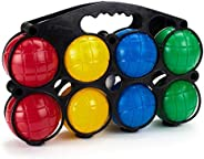 Beginner 4-Player Colourful 70mm Plastic Bocce Ball 9-Piece Set
