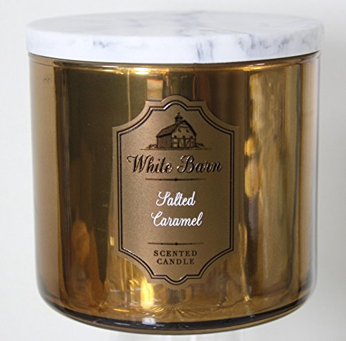 Bath & Body Works 3 Wick Candle Salted Caramel