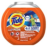 Tide PODS Plus Febreze Sport Odor Defense Laundry Pacs, Active Fresh Scent, 54 count, Designed For Regular and HE Washers (packaging may vary)