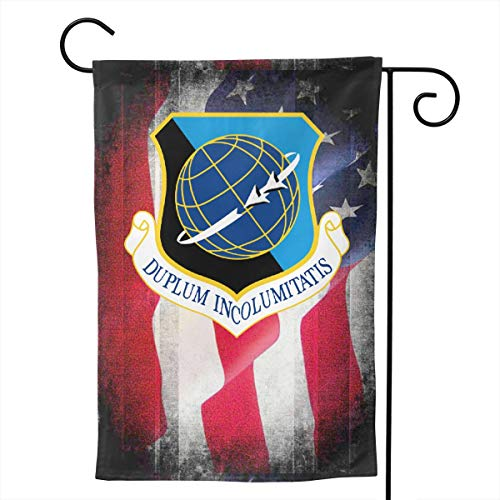 Ellive Air Force 92nd Air Refueling Wing 12 X 18 Inch Outdoor Yard Flags, Decorative House Yard Flag, Polyester, Durable