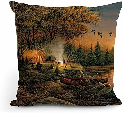 Wild Wings Evening Solitude 18 Decorative Pillow