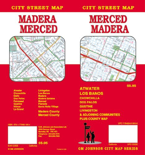 Merced / Madera / Atwater CA Street Map (Outlet-mercedes)