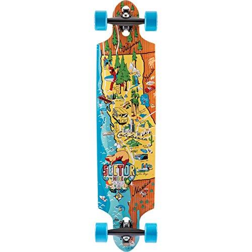 Sector 9 Traveler Deck Skateboard, Assorted (Sector Carving 9 Series)