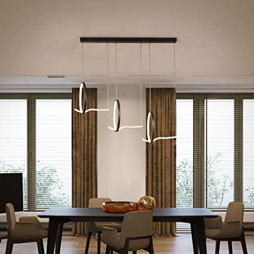 -Household Chandelier, Acrylic Iron Chandelier, Modern Minimalist Creative Restaurant Study Nordic Office Chandelier Pendant Light (Color : B)