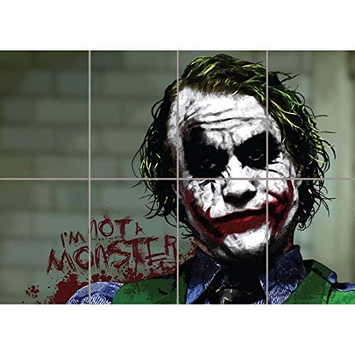 BATMAN JOKER IM NOT A MONSTER CULT CLASSIC MOVIE FILM COMIC BOOK GIANT WALL POSTER ART PRINT B1062 -
