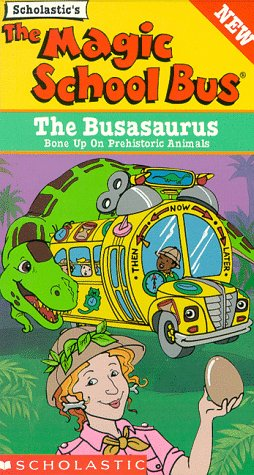 The Magic School Bus - The Busasaurus [VHS] by Scholastic
