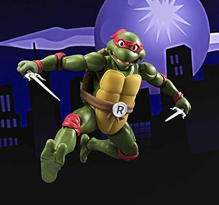 BANDAI-Las Tortugas Ninja Figura Articulada, 15 cm (BDITM079859)
