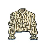Seinfeld Inspired Lapel Pin by Valley Cruise Press Puffy Shirt Novelty Enamel Lapel Pin - Seinfeld - 90s - Sitcom - TV - Gift - Pirate