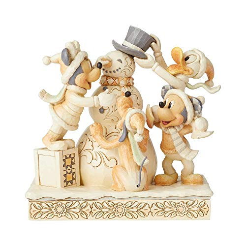 (Enesco Disney Traditions Fab Four White Woodland Figurine)