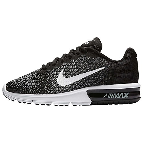 Max Scarpe Donna 2 Running Nero Air Sequent Nike Wmns BUPxww