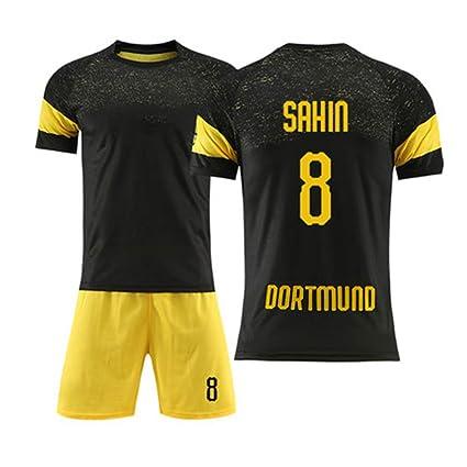 HEIPIYAYAYAYA Camiseta de fútbol Borussia Dortmund 8# SAHIN ...