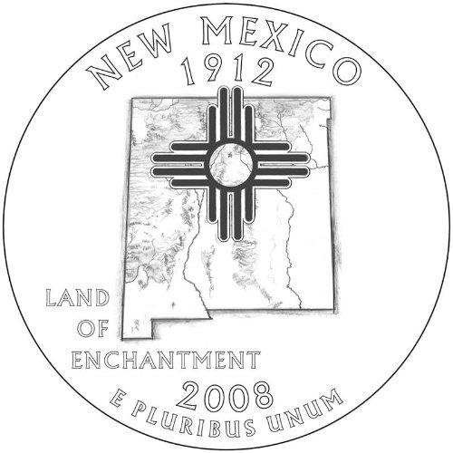 (2008-P&D New Mexico BU State Quarters)
