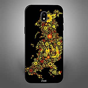 Samsung Galaxy J4 Yellow Flowers