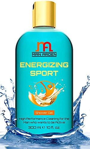 Man Arden Energizing Luxury Shower Gel - Spearmint Oil Body
