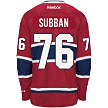 PK Subban Montreal Canadiens Reebok Premier Replica Home NHL Hockey Jersey - Size X-Large