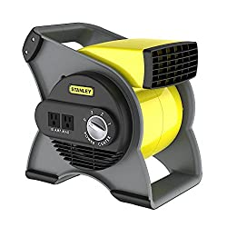 Lasko Stanley 655704 High Velocity Blower Fan, Yellow
