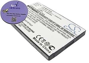 Brundle vintrons - 850 mAh batería de repuesto para MOTOROLA A630, V500, v501, + apoyavasos vintrons