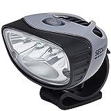 Light & Motion Seca 1800 Light Head, Grey