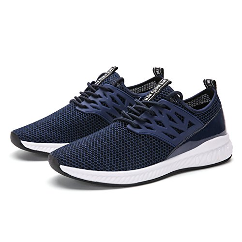 SITAILE Unisex Herren Damen Helle Sportschuhe Sport Outdoor Schuhe Laufschuhe Sneaker B-Blau