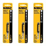 DEWALT DW2054 1/4-Inch Compact Magnetic Drive Guide (3 PACK) (Tamaño: 3 PACK)