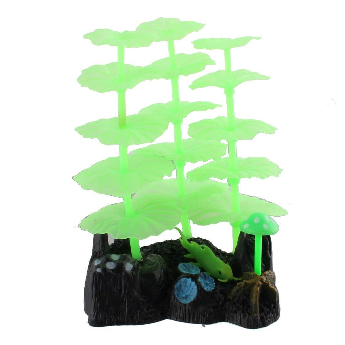1Pc Ceramic Base Aquarium Scenery Vivid Aquatic Viewing Sea Decorative Coral Plant