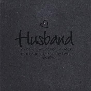 Amazoncom Greeting Card Valentines Day Blank Inside Husband My