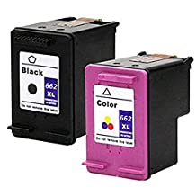 LOVEINK 2 Pack Replacement Ink Cartridge for HP 662XL 662 XL Compatible with Deskjet Ink Advantage 1015 1515 3515 3545 4645 Printer