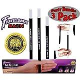 Fantasma Magic Rising Wand Party Set Bundle - 3 Pack