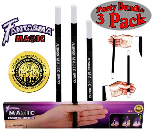 Forum Novelties Fantasma Magic Rising Wand Party Set Bundle-3 Pack (Rising Wand)