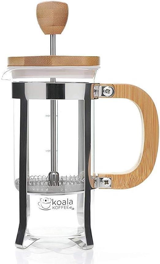 KEYkey Utensilios de café de Accesorios de bambú French Press ...