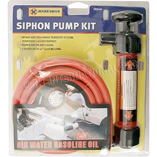 Siphon Kit Pompe pour l'EAU ,essence,Diesel, etc Marksman