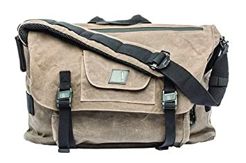 Amazon.com : BLACKHAWK Diversion Wax Canvas Messenger Bag, Earth ...