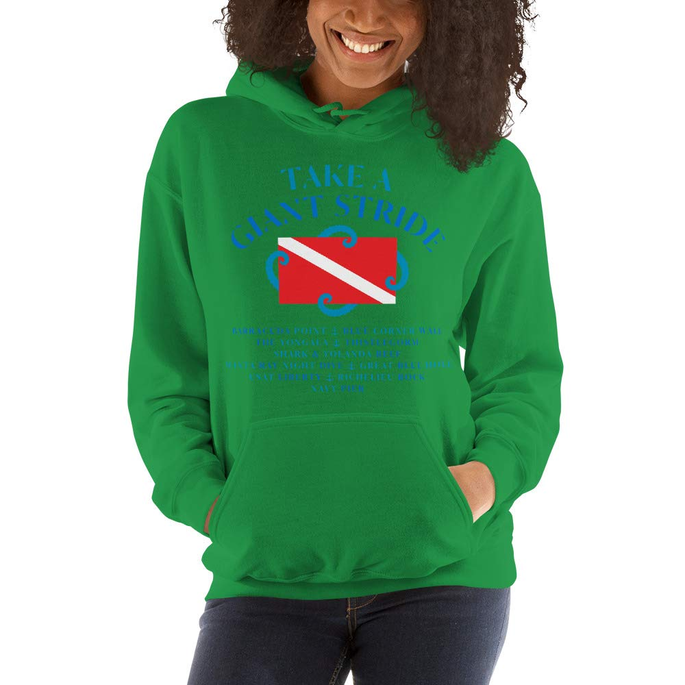 Stay Salty Collection Nuomuos Scuba Diving Hooded Unisex Sweatshirt