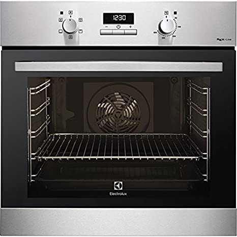 Electrolux F43GXE Gas natural 69L 1760W A+ Negro, Acero inoxidable ...