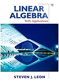 Student study guide linear algebra with applications sixth edition linear algebra with applications 7th edition fandeluxe Choice Image