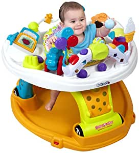 Kolcraft Baby Sit and Step 2-In-1 Activity Center, Jamboree (Discontinued by Manufacturer)