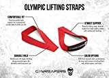 Gymreapers Olympic Lifting Straps for