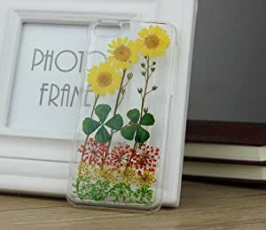 Custom Floral Real Pressed Flowers Phone Case for iPhone4/4s,iPhone5/5s,iPhone5c,Samsung Galaxy S3 s4 s5 note2 note3 (Samsung Galaxy note3)