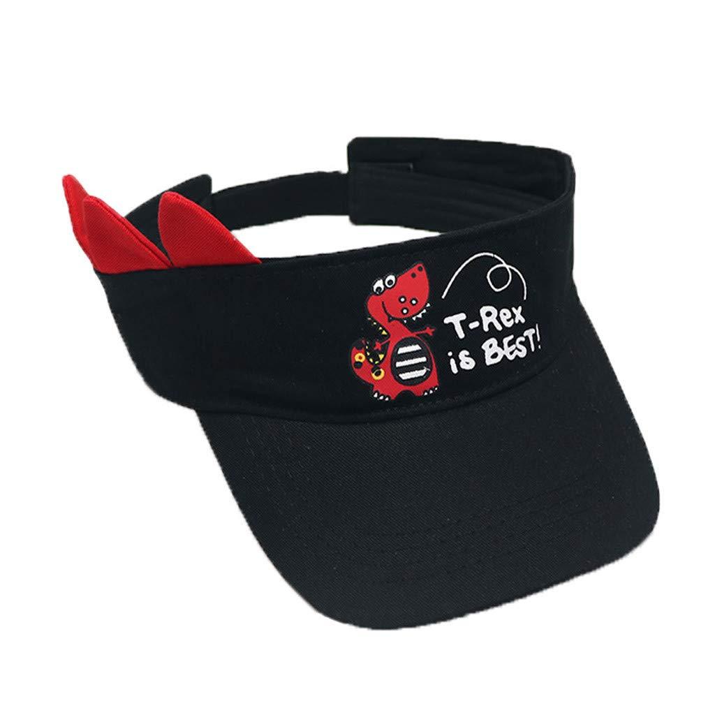 Childrens Star Letter G Embroidered Banner Striped Cap Baseball Cap Sun Visor Hat