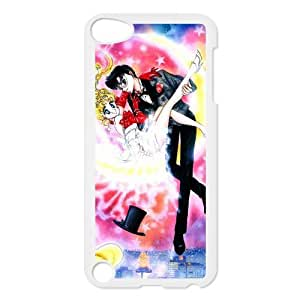 iPod Touch 5/5th Generation case cover,Sailor Moon Design Plastic Case Personalized DIY Art Print Design Hard Shell Protection for iPod Touch 5/5th Generation
