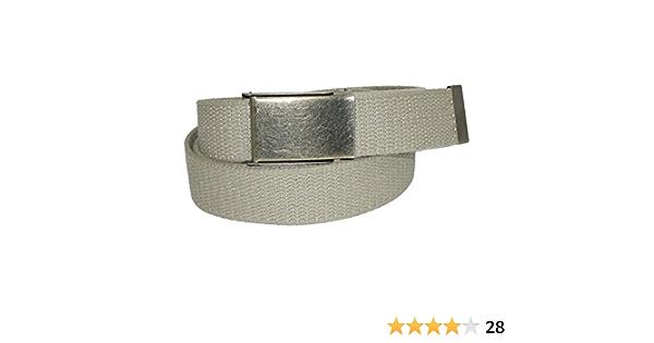 New CTM Men/'s Big /& Tall Fabric 1 3//4 Inch BDU Adjustable Belt