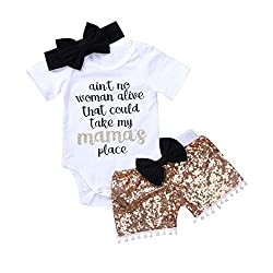 3Pcs Set Newborn Romper