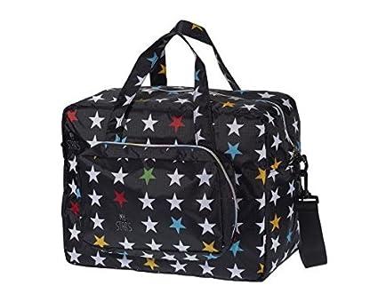 Bolso Maternal Carrito Bebe -Estrellas negro-Danielstore