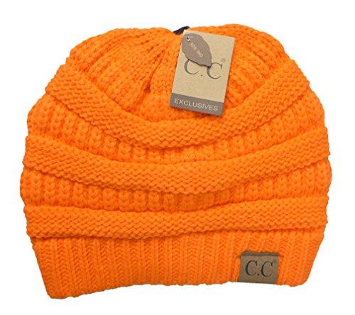 omen's Classic CC Beanies One Size Hunter Orange ()