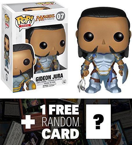 Gideon Jura: Funko POP! x Magic - The Gathering Vinyl Figure + 1 FREE Official Magic The Gathering Trading Card Bundle [45692]