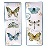 Certified International Table Top - Green House Butterfly Rectangular Platters Set of 2