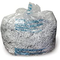 Swingline Shredder Bags, Plastic, 6-8 Gallon, For 60X/80X/100X/200X/100M, 100/Box (1765016)